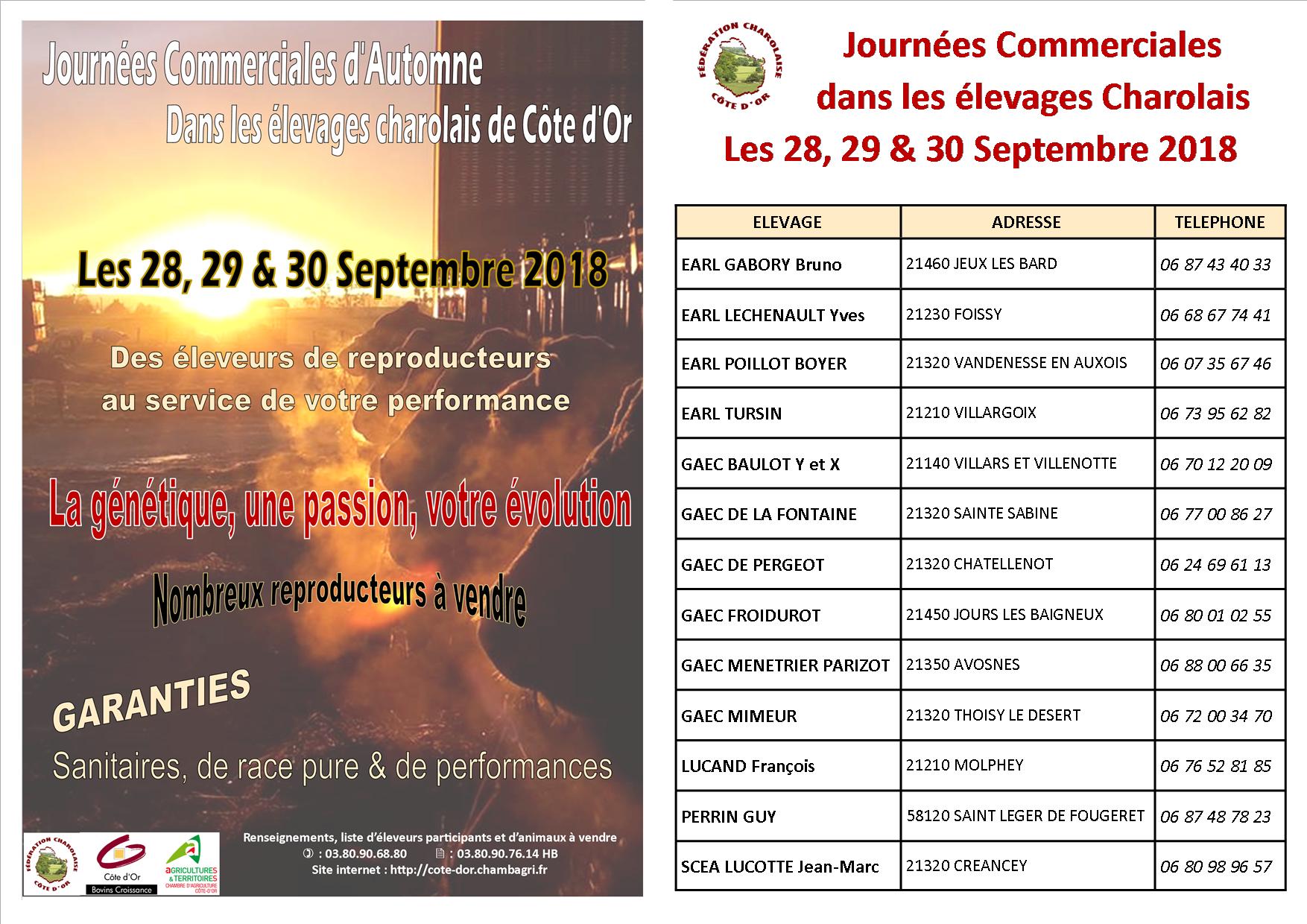 Journees cciales Fed Charolaise21